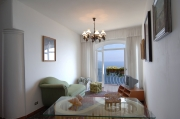 The dining room with the marvellous view of the coast