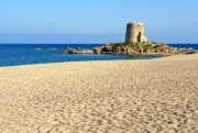 The beautiful Beach with the tower