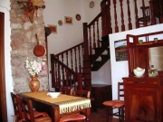 Dining area of the apartment La Maddalena