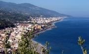 Panoramic view of Roccalumera