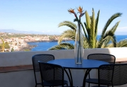 Terrace with sea view apartment Mojo