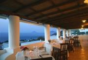 Terrace of the restaurant