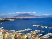 Panoramic view of Naples