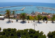 The ocean drive of Sciacca