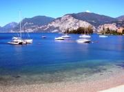 View of the Garda Lake