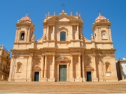 The beautiful duomo of Noto