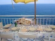 Terrace for the breakfast