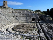 The famous greek teatre of Syracuse