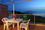 Terrace with splendid view of Capri