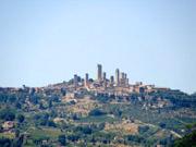 San Gimignano- view by the garden
