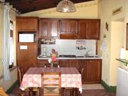 Apartment in Montepulciano: The kitchen of Villa Le Viole