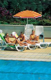 Sun bathers