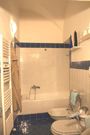 Bathroom in Duomo apartment