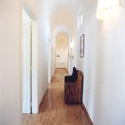Corridor of Contessa Maria Luisa apartment in Florence