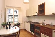 Kitchen of Contessa Maria Luisa apartment in Florence