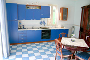 Sorrento Villa: The large kitchen of Ornella Villa in Sorrento