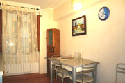 Dining area of the Duomo Apartment