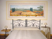 Apartment in Montepulciano: The Double Bedroom of Girasole apartment