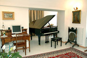 Villa Amalfi: Place in common with a piano and internet-point of Villa Felice in Amalfi