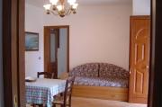 Essbereich mit Sofabett