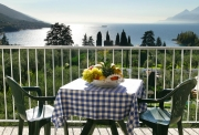 Terrace with view of the Garda lake