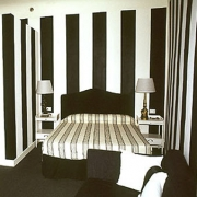Double room black and white