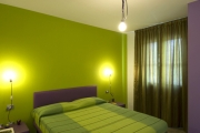 Yellow-purple double room