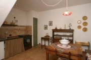 Dining area with kitchen corner
