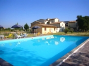 Il Country House con la piscina