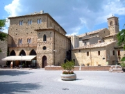 The beautiful historic centre of Bevagna