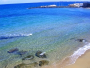 One of the beautiful beaches of Salento