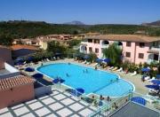 Blick auf die Residenz mit dem Swimmingpool