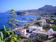 Panoramic view of Lipari