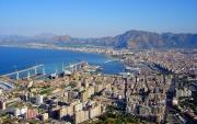 Panoramic view of Palermo