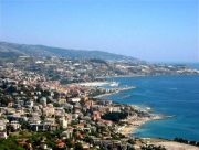 Panoramic view of Sanremo