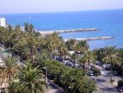 Strandpromenade von Sanremo