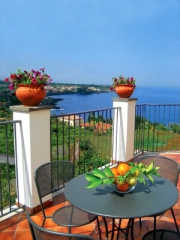 Terrasse des Appartements Etna