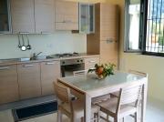 Kueche des Appartements Etna
