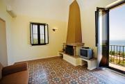 Wohnzimmer Appartement Etna