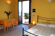 Schlafzimmer Appartement Stromboli