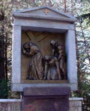 Via Crucis monumentale von Francesco Messina