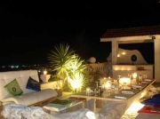 Restaurant bei Nacht