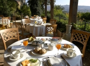 Breakfast on the terrace with view of the Valley of the Temples