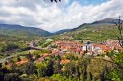 Panoramic view of Aulla