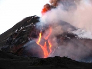 Etna in eruption