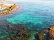 Das kristallblaue Meer