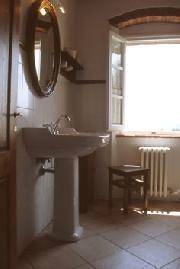 Bagno dell'appartamento Sottili