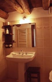 Badezimmer des Appartements Moretti
