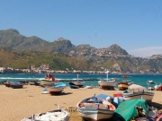 Panoramic view of Giardini Naxos