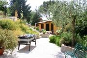 Una foto del giardino